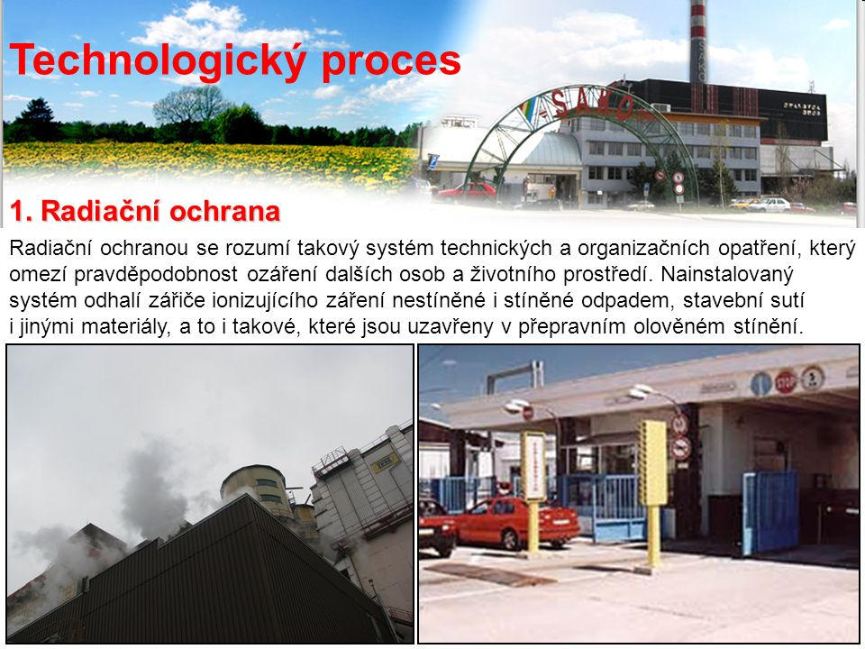 Technological process 1.