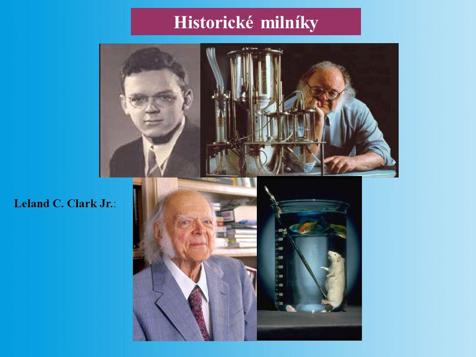 Historické milníky Clark s Lyonsem poprvé uvedli termín enzymová elektroda (1962).