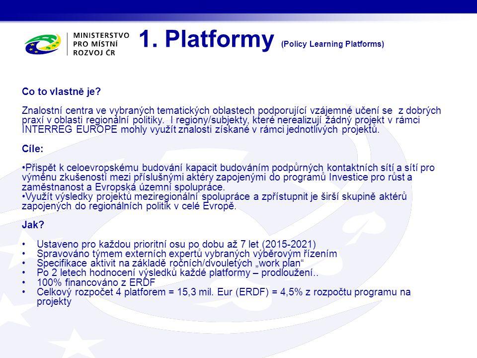 1.Platformy (Policy Learning Platforms) Co to vlastně je.