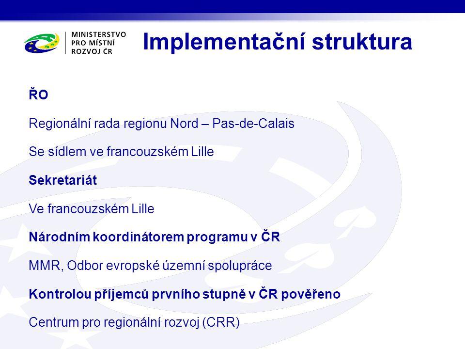 Priority programu INTERREG IVC 1.
