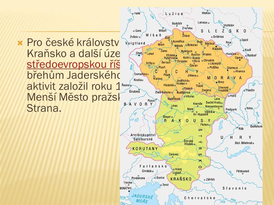 PPro české království získal Chebsko, Korutany, Kraňsko a další území a vybudoval mohutnou středoevropskou říši táhnoucí se téměř až ke břehům Jader