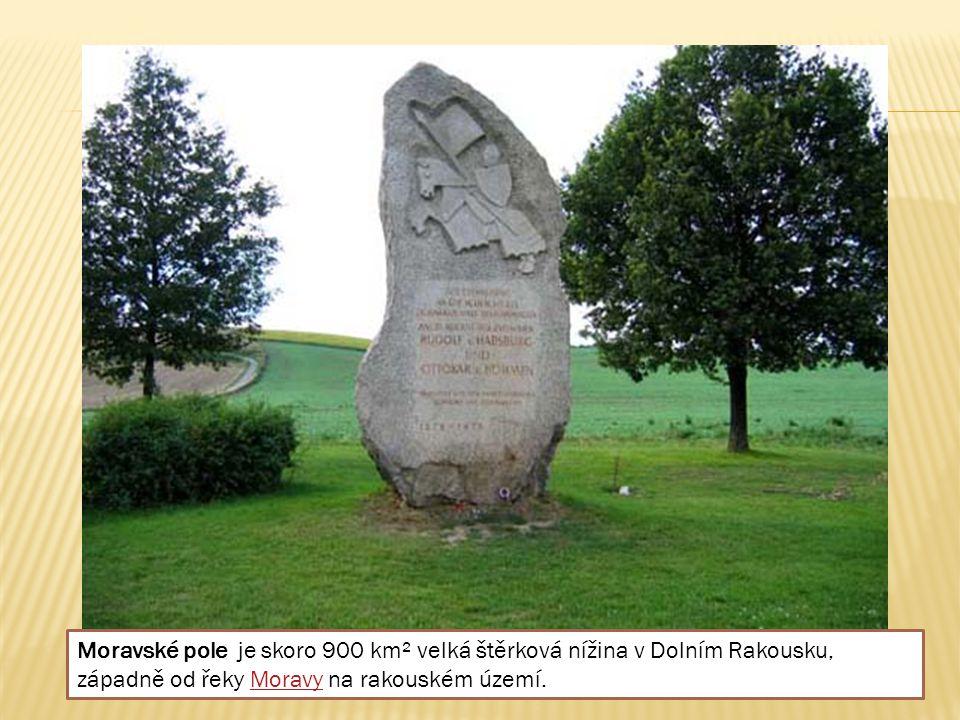 Moravské pole je skoro 900 km² velká štěrková nížina v Dolním Rakousku, západně od řeky Moravy na rakouském území.Moravy