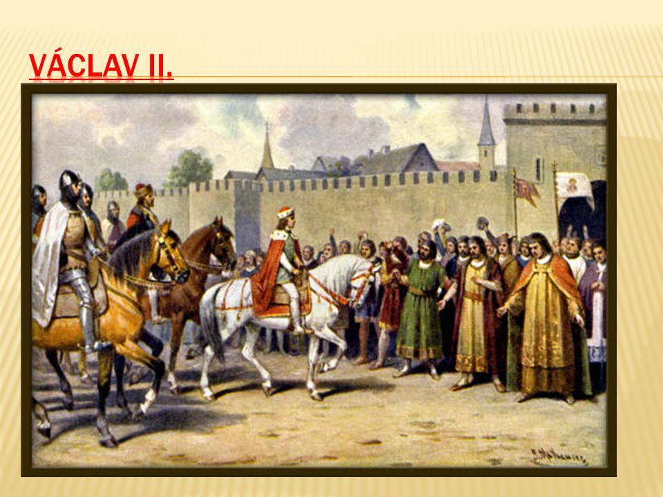 Syn Přemysla Otakara II., Václav II., byl teprve sedmiletý, když jeho otec zahynul ve válce. Jeho strýc a poručník Ota Braniborský se chtěl sám zmocni