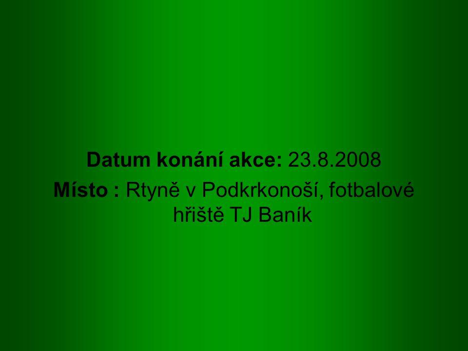 Účastníci turnaje : FC Hradec Králové - dívky TJ Baník Rtyně-Úpice Sokol Stárkov FK Baník Radvanice