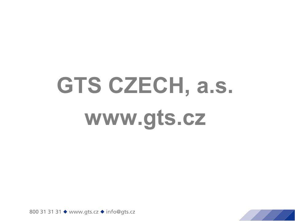 GTS CZECH, a.s. www.gts.cz