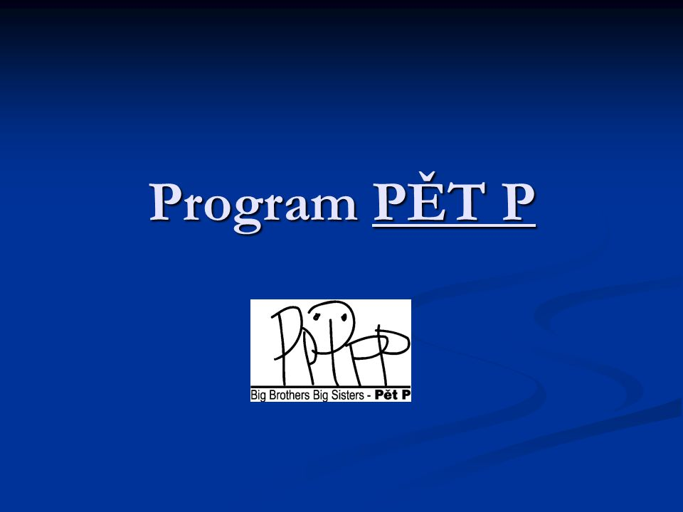 Program PĚT P