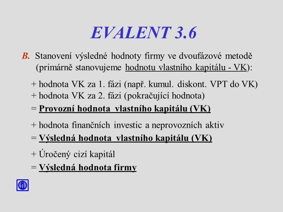 EVALENT 3.6 B.