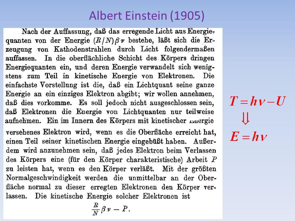 Albert Einstein (1905)