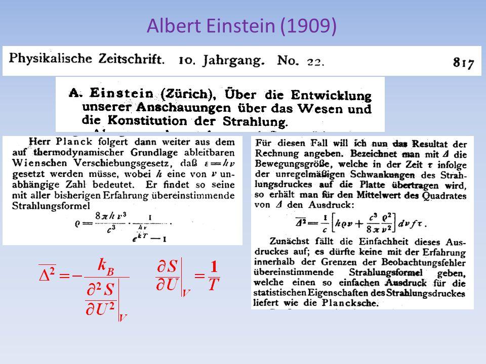 Albert Einstein (1909)