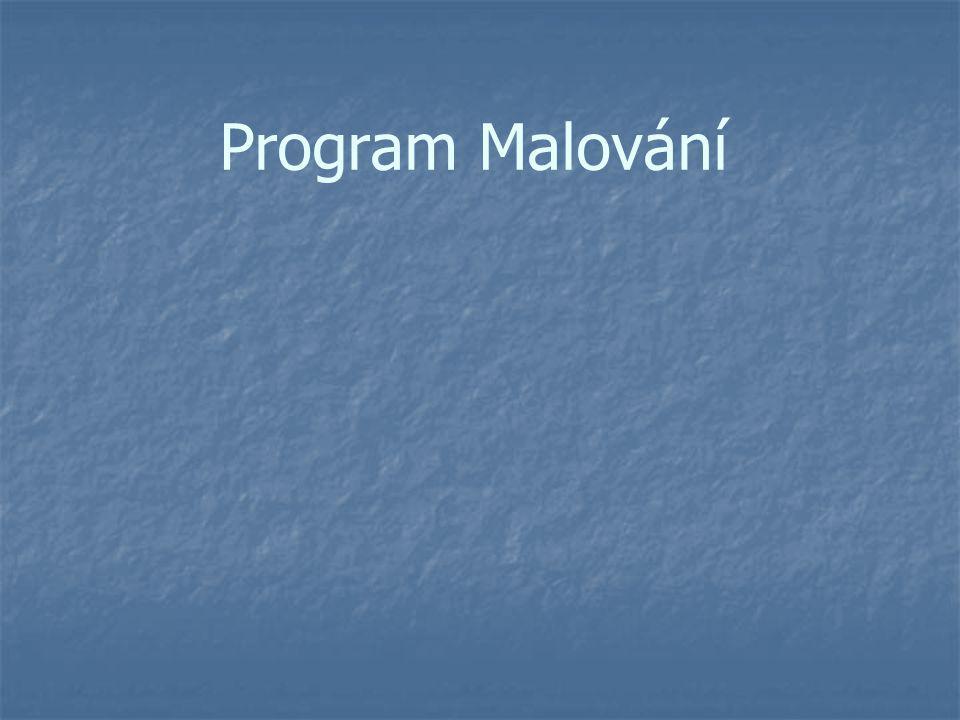 Použité obrázky jsou okopírovaná okna programu Malování, který je součástí OS Windows.