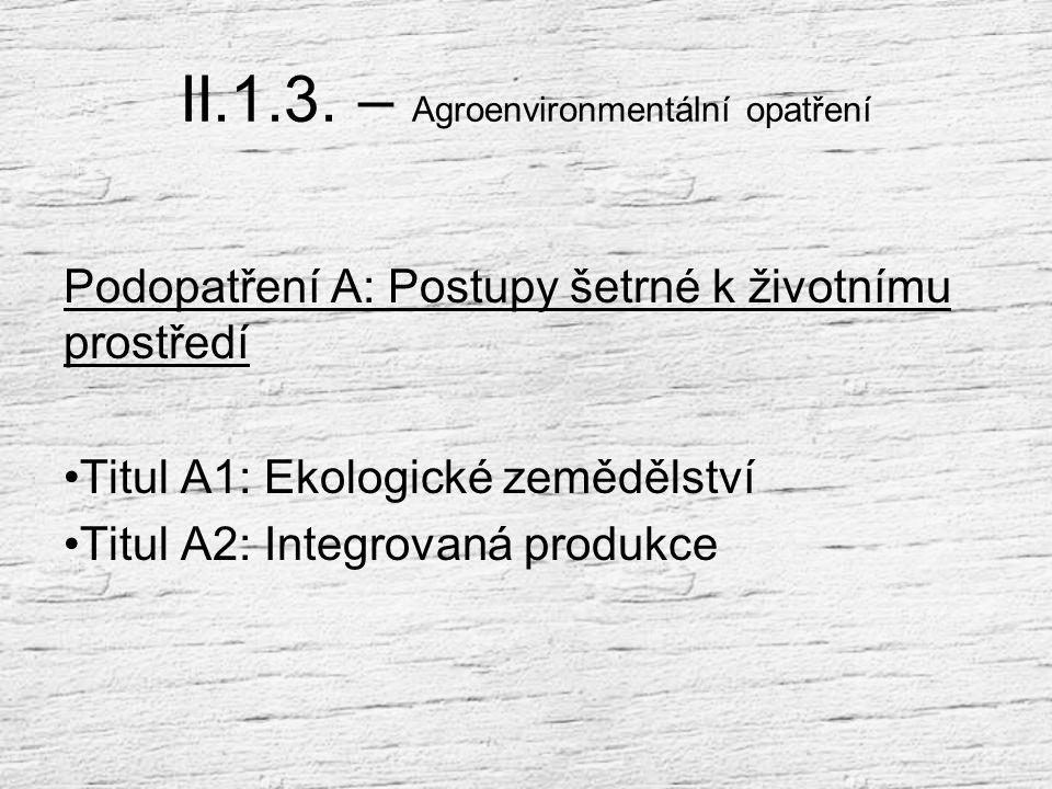 Opatření II.1.2. Platby v rámci oblastí NATURA 2000 a Rámcové směrnice pro vodní politiku 2000/60/ES (WFD) II.1.2.1. Platby v rámci NATURA 2000 na zem