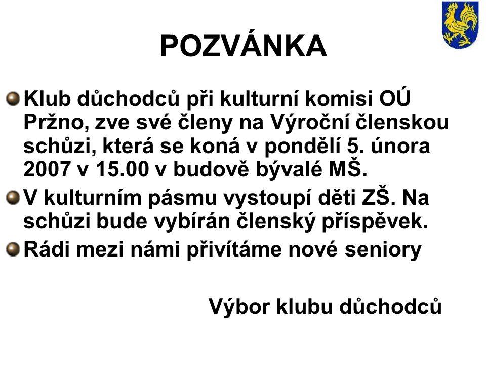 Poděkování Jménem školské komise děkuji všem rodičům, občanům, čl.