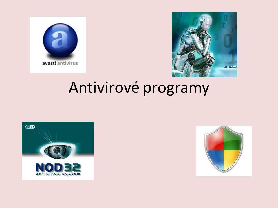 Antivirové programy