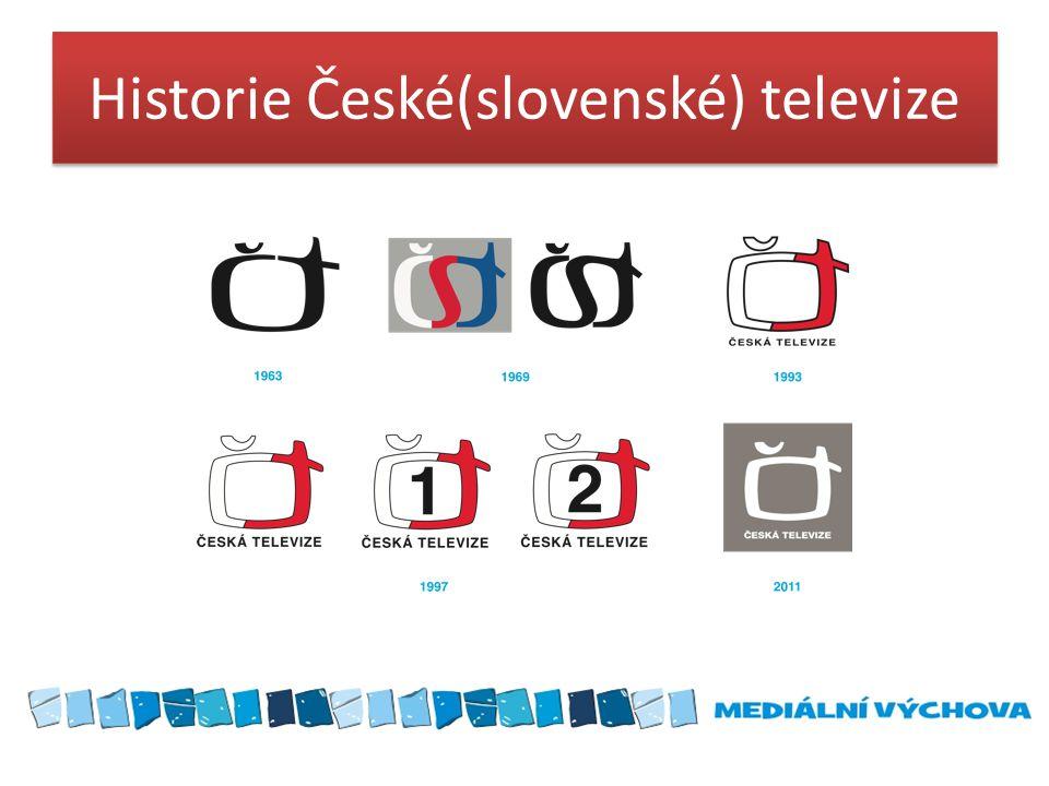 Historie České(slovenské) televize