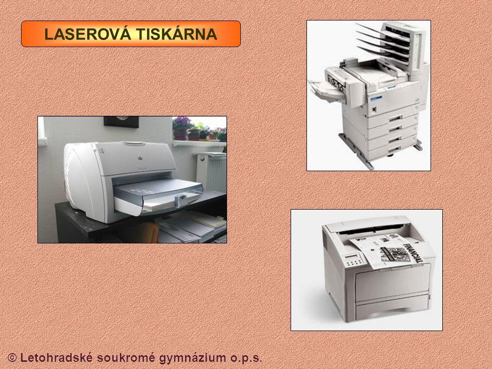 © Letohradské soukromé gymnázium o.p.s.Levnější typy mají náplně a tiskové hlavy v jednom.