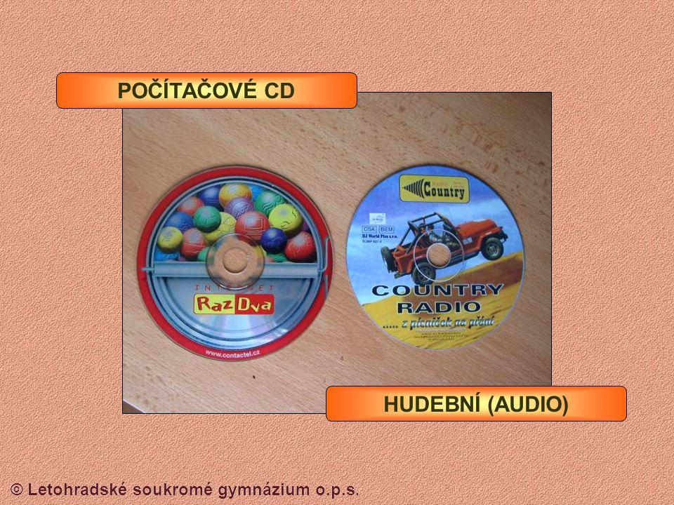 © Letohradské soukromé gymnázium o.p.s. CD-ROM Blue Ray média (nosiče) Blue ray disk jedna vrstva 25 GB dvě vrstvy 50 GB dvě vrstvy oboustraně 80 GB B