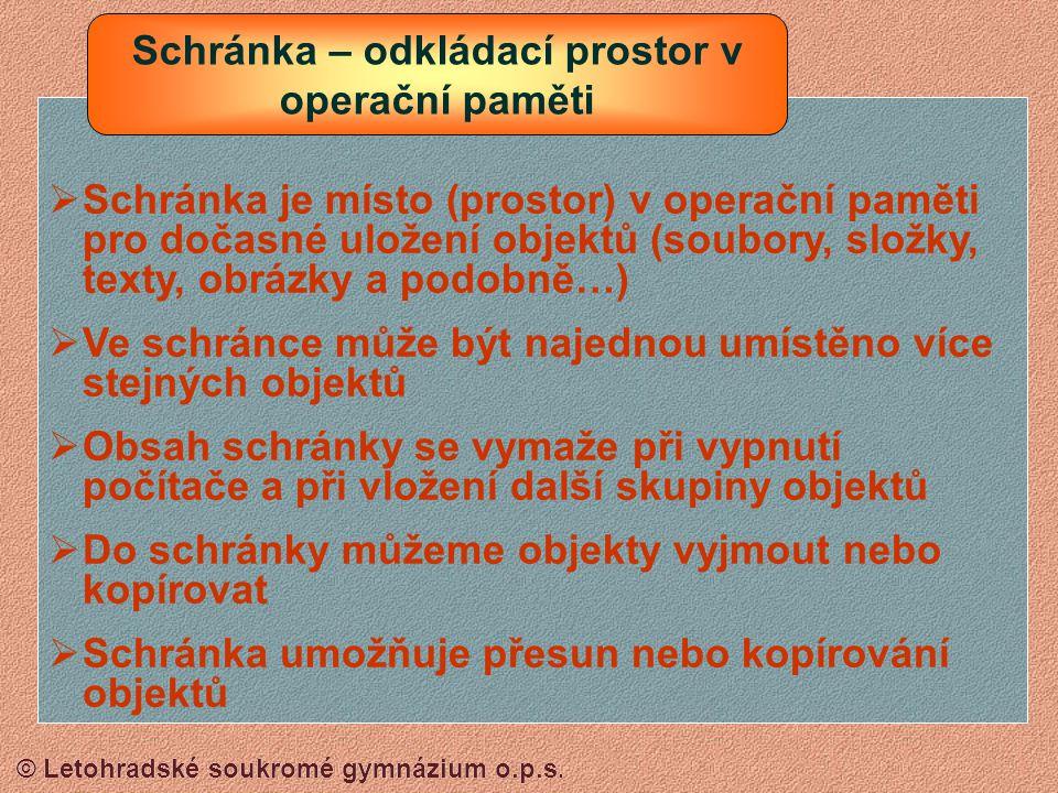 © Letohradské soukromé gymnázium o.p.s. Ahoj Máňo, tak si představ, že se mě včera ten guláš zase nepoved. Asi jsem tam neměla sypat ty skořápky….. SL