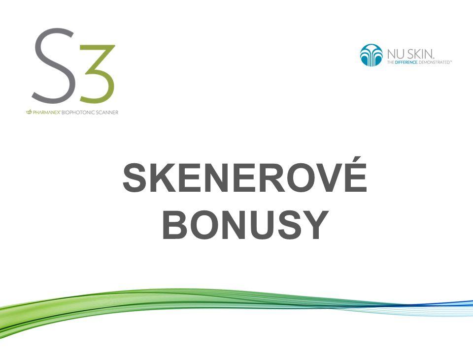 Bonus operátora skeneru NÁROK NA BONUS Na všechny bonusy budete mít nárok tak dlouho, dokud budete kvalifikovaní na vyplácení provizí.