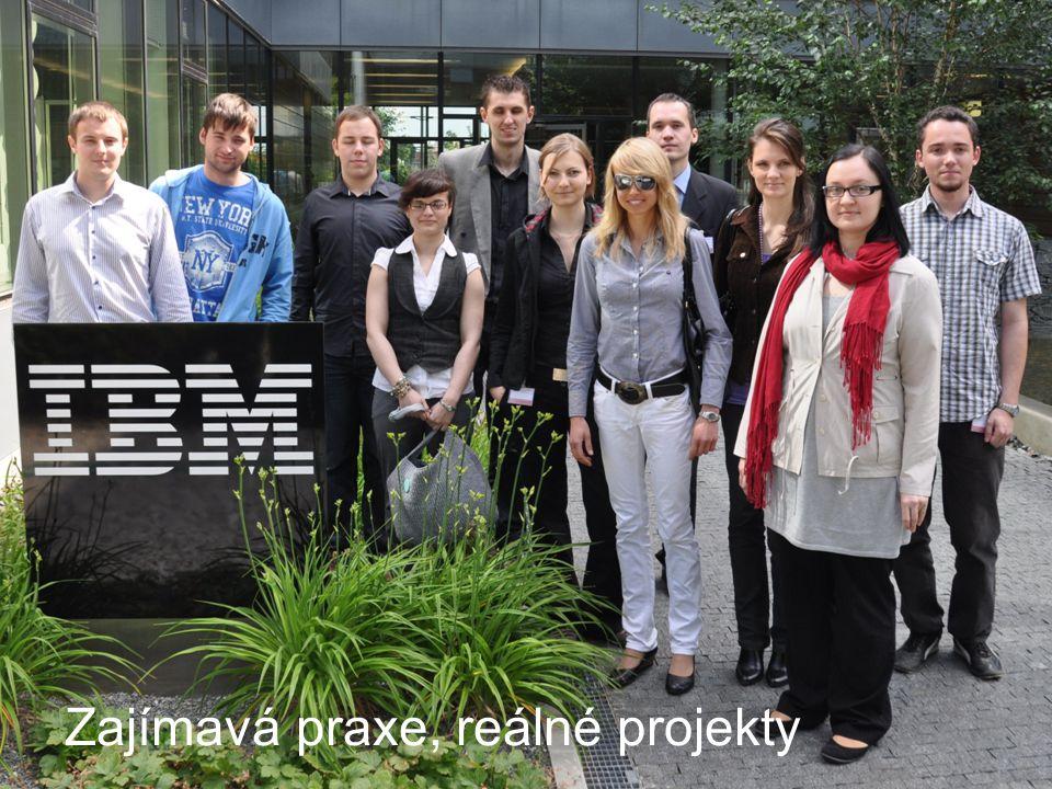 Academic initiation © 2009 IBM Corporation May 14, 2009 Zajímavá praxe, reálné projekty