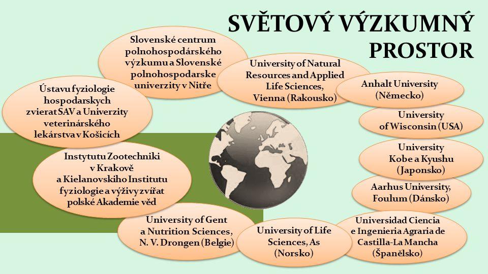 SVĚTOVÝ VÝZKUMNÝ PROSTOR University of Gent a Nutrition Sciences, N.