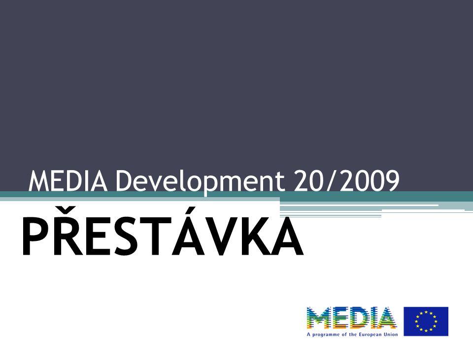 MEDIA Development 20/2009 PŘESTÁVKA