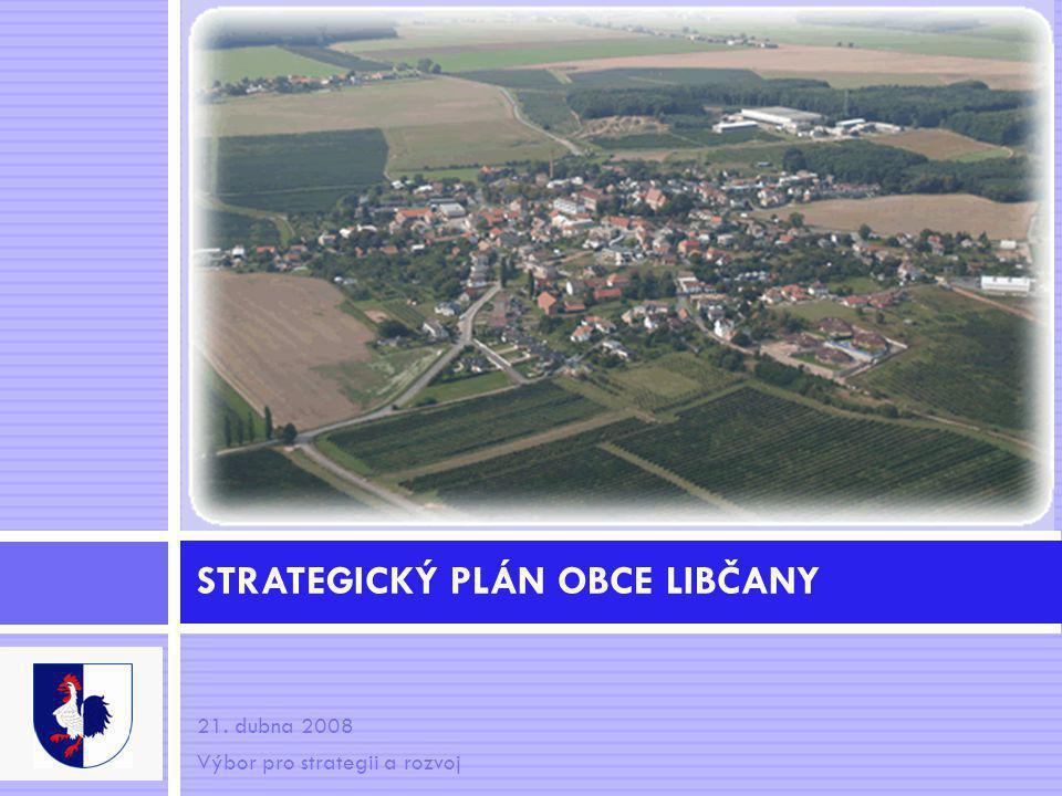 21. dubna 2008 Výbor pro strategii a rozvoj STRATEGICKÝ PLÁN OBCE LIBČANY