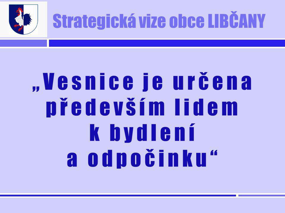 """Strategická vize obce LIBČANY """"Vesnice je určena především lidem k bydlení a odpočinku"""