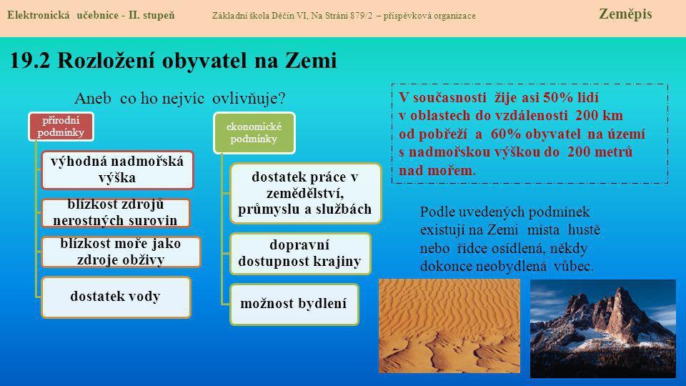19.3 Výjimky potvrzující pravidlo Elektronická učebnice - II.