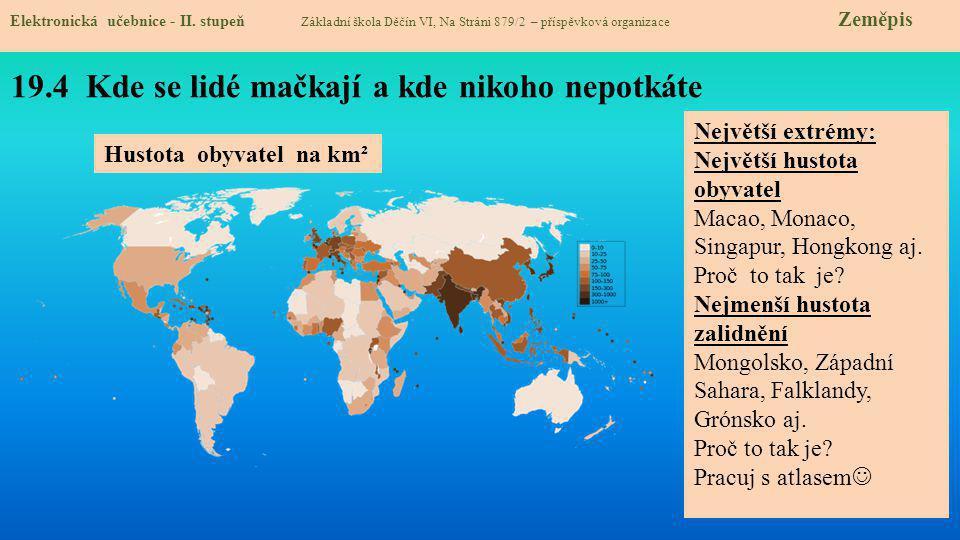 19.5 Procvičování a příklady Elektronická učebnice - II.