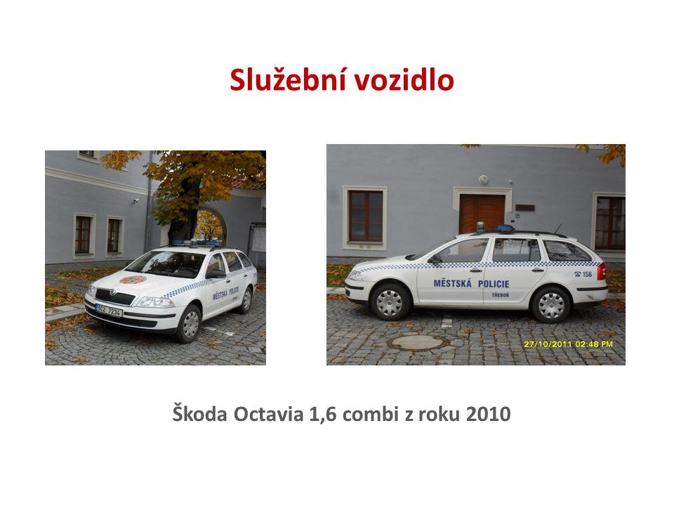 Služební vozidlo Škoda Octavia 1,6 combi z roku 2010