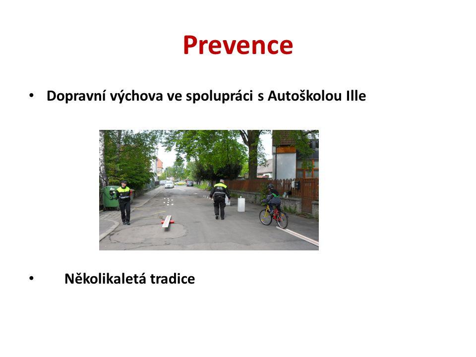 Prevence Dopravní výchova ve spolupráci s Autoškolou Ille Několikaletá tradice