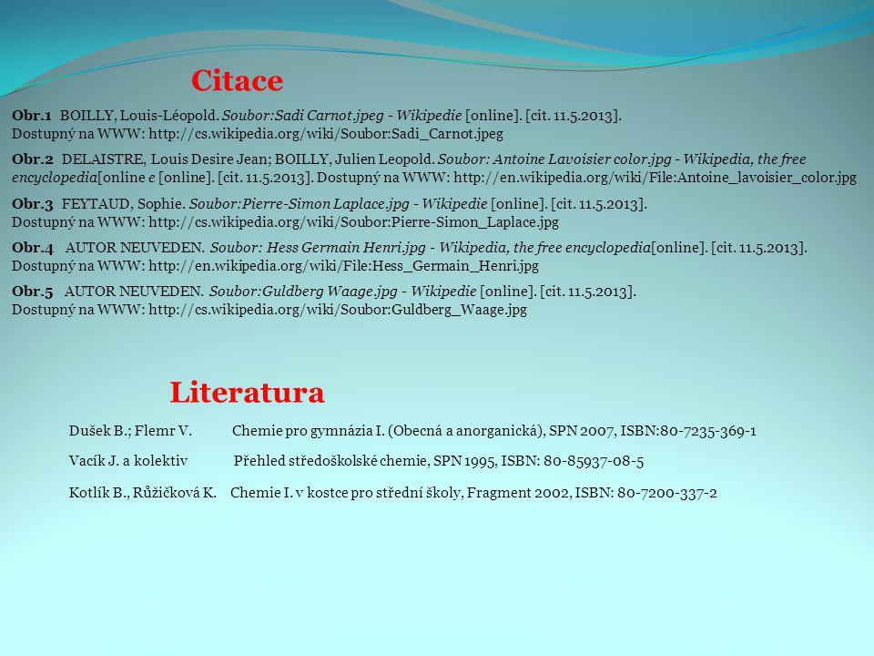 Citace Obr.3 FEYTAUD, Sophie. Soubor:Pierre-Simon Laplace.jpg - Wikipedie [online]. [cit. 11.5.2013]. Dostupný na WWW: http://cs.wikipedia.org/wiki/So