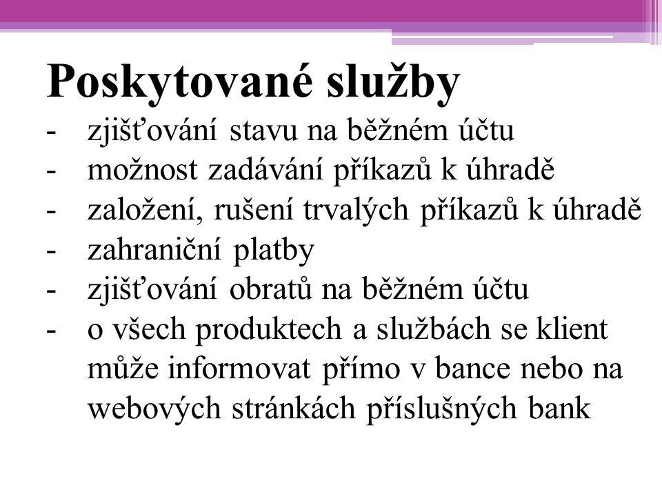 Zdroje Finanční vzdělávání.cz: Přímé bankovnictví.