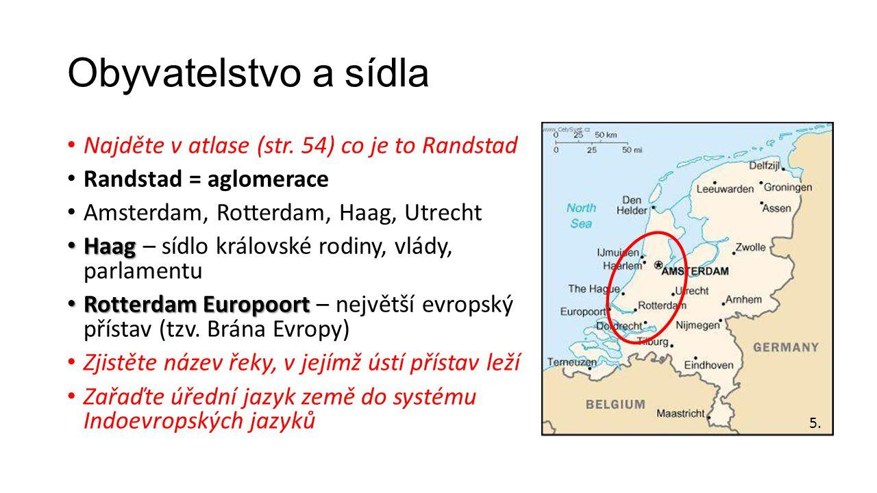 Obyvatelstvo a sídla Najděte v atlase (str.