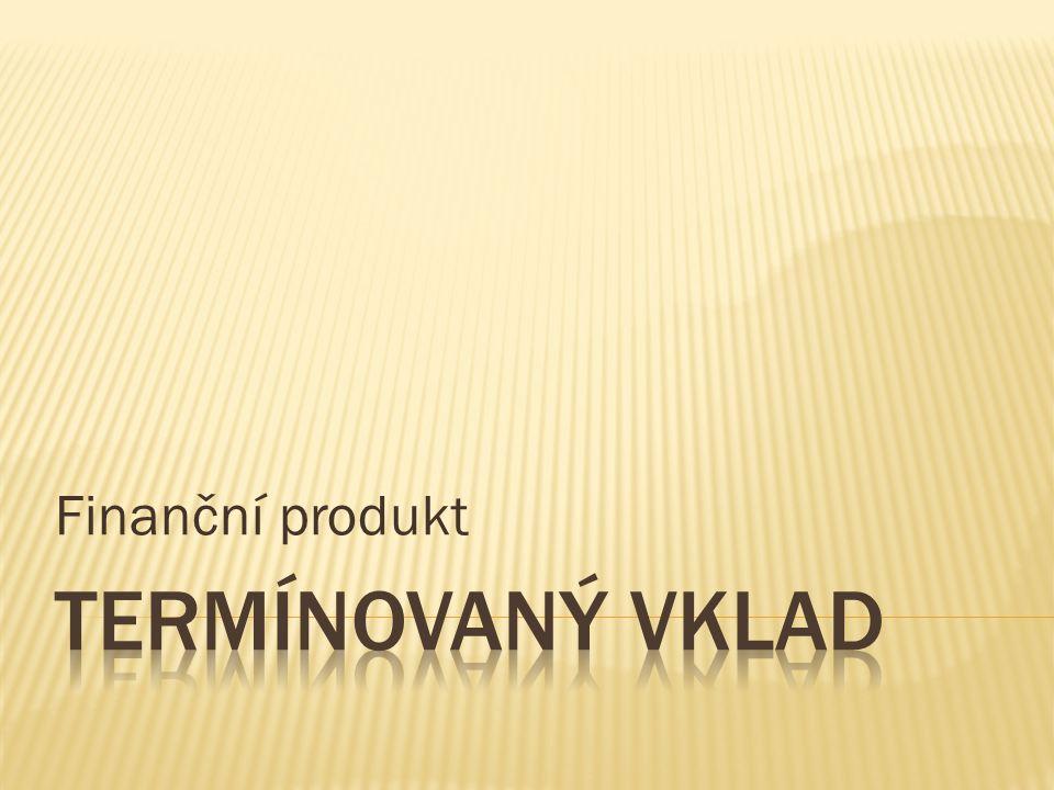 Finanční produkt