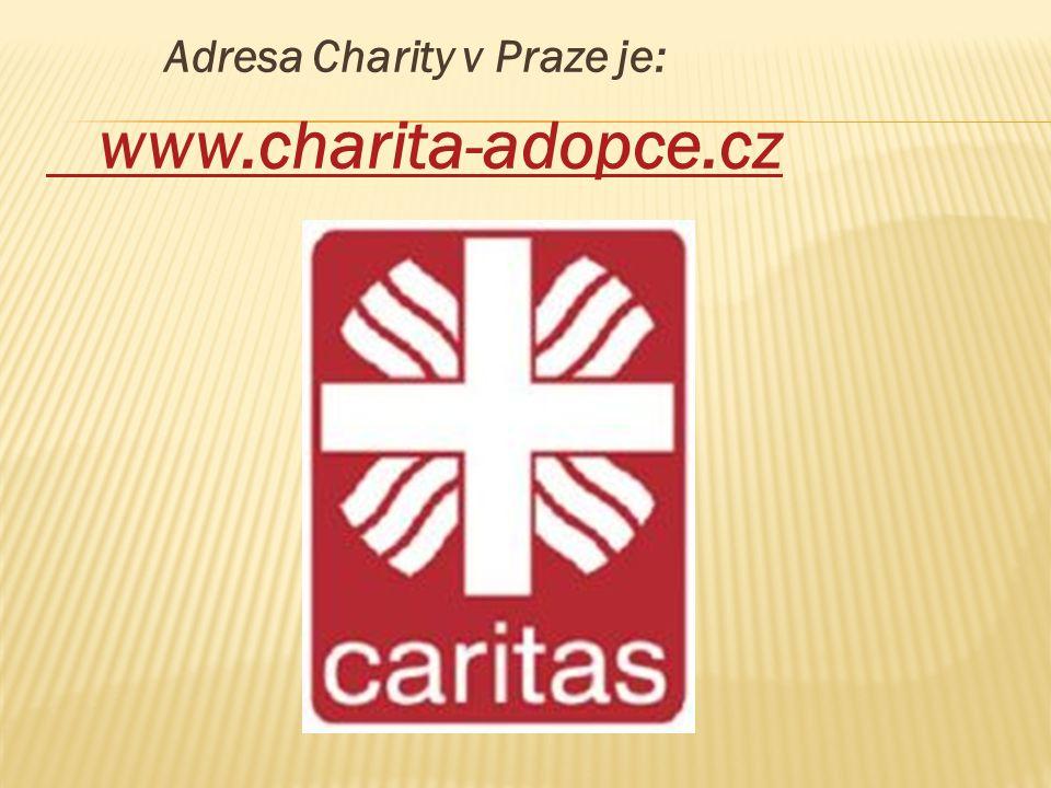 Adresa Charity v Praze je: www.charita-adopce.cz