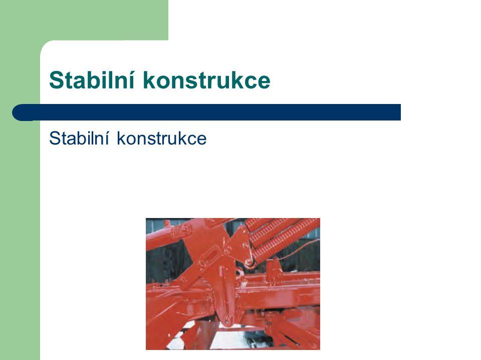 Stabilní konstrukce