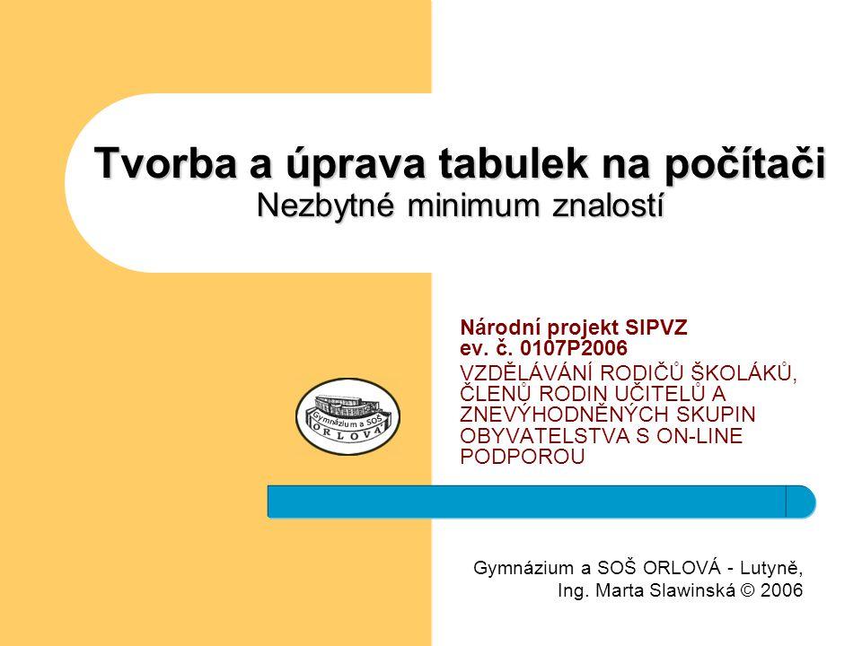Gymnázium a SOŠ ORLOVÁ - Lutyně, Ing.