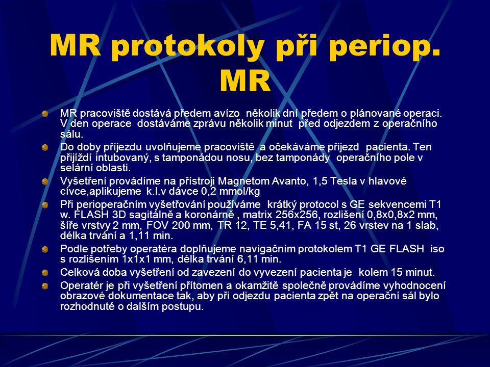MR protokoly při periop.