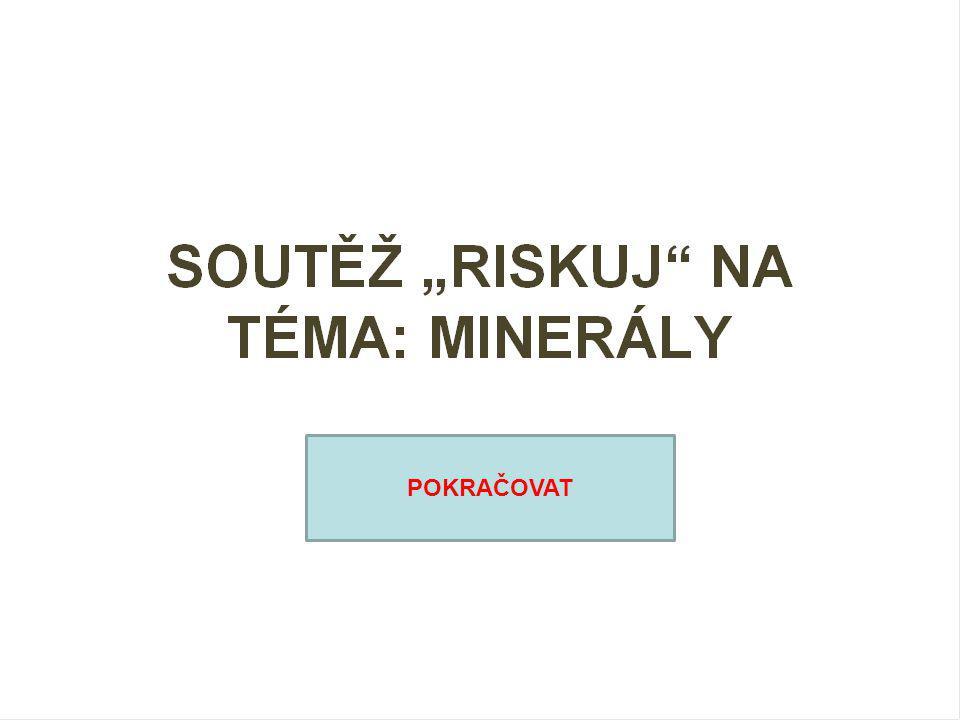 RISK Minerály