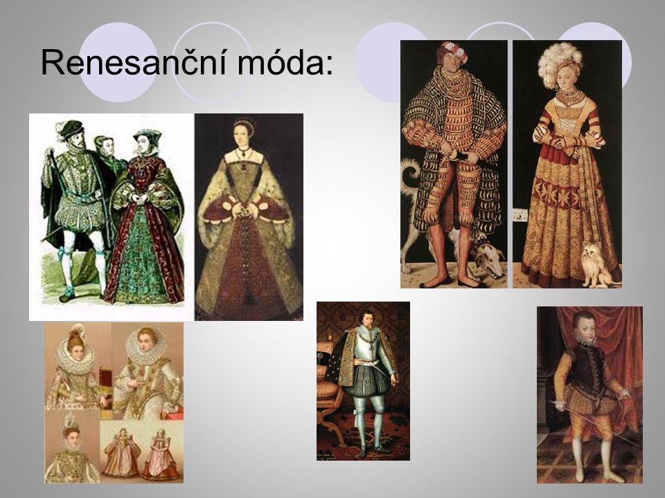 Renesanční móda: