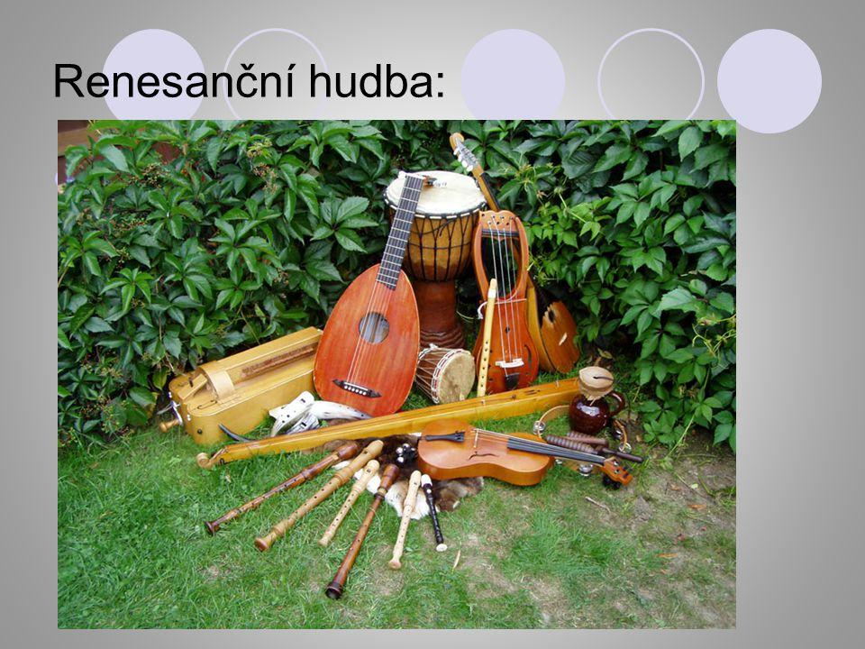 Renesanční hudba: YouTube - Muzica et danza antiqua: Renesance YouTube - Muzica et danza antiqua: Renesance