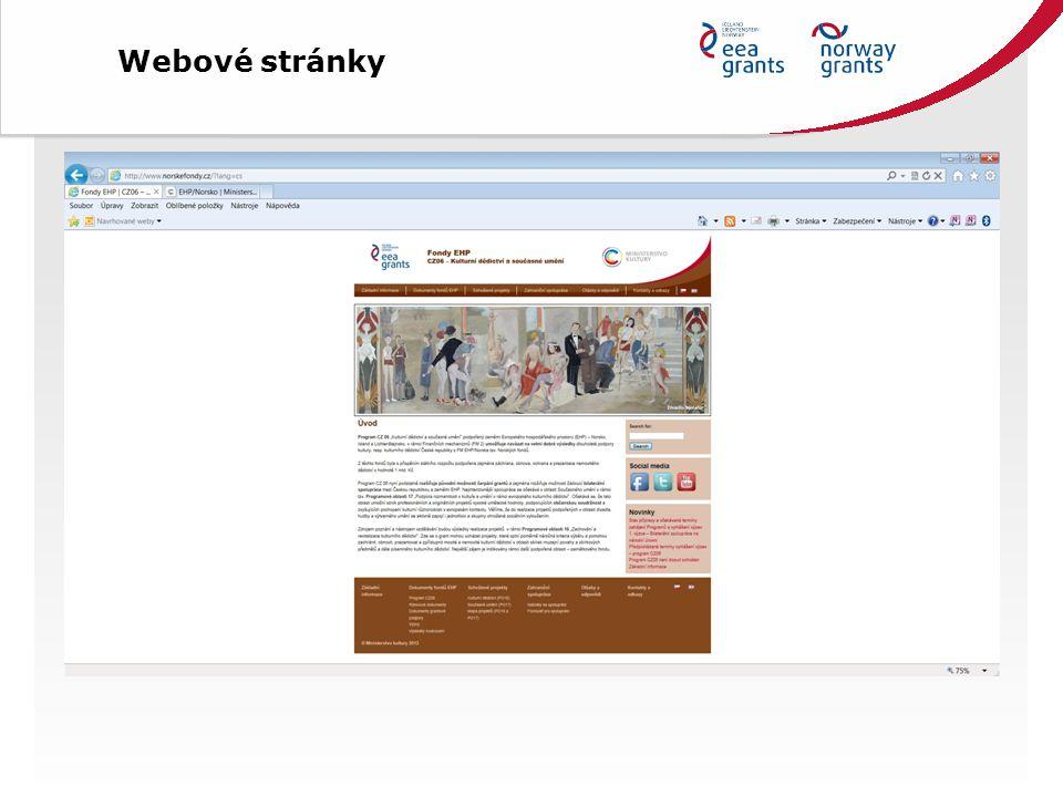 Ministerstvo kultury- vytváří Program CZ06 - hodnotí a vybírá kvalitní projekty k realizaci - podílí se na partnerské spolupráci - financuje projekty příspěvkových organizací MK - dohlíží na realizaci projektů PO MK - zprostředkuje programovou oblast 17 WEB http://www.eeagrants.com; http://kulturradet.no/eos-midlene http://www.eeagrants.cz http://www.mkcr.cz http://www.norskefondy.cz OPŘ MKČR (partner programu CZ06) Mgr.