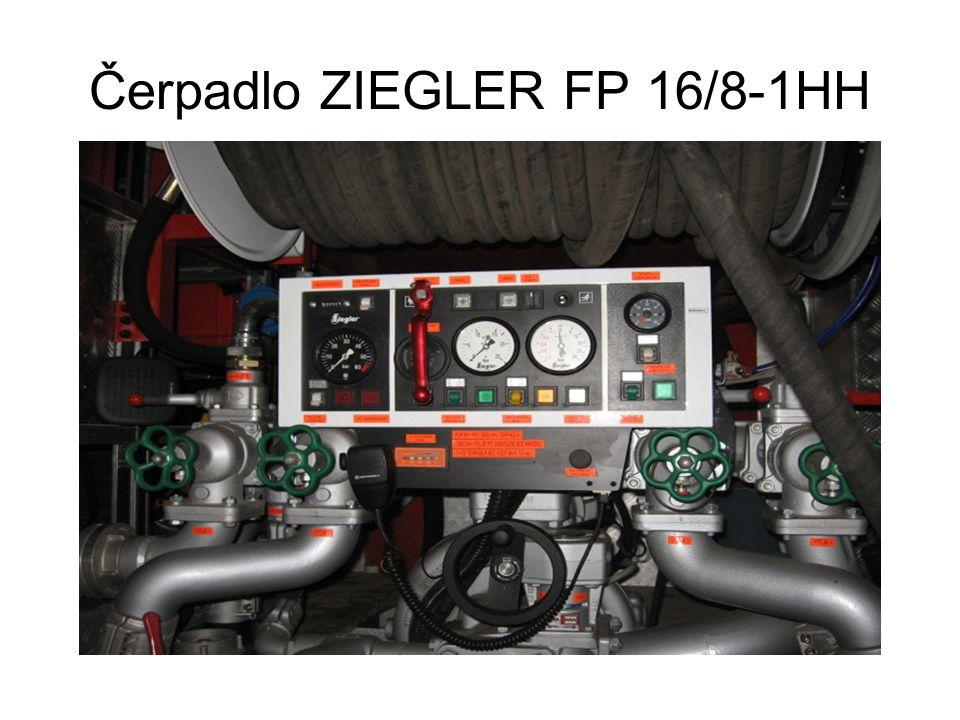 Čerpadlo ZIEGLER FP 16/8-1HH