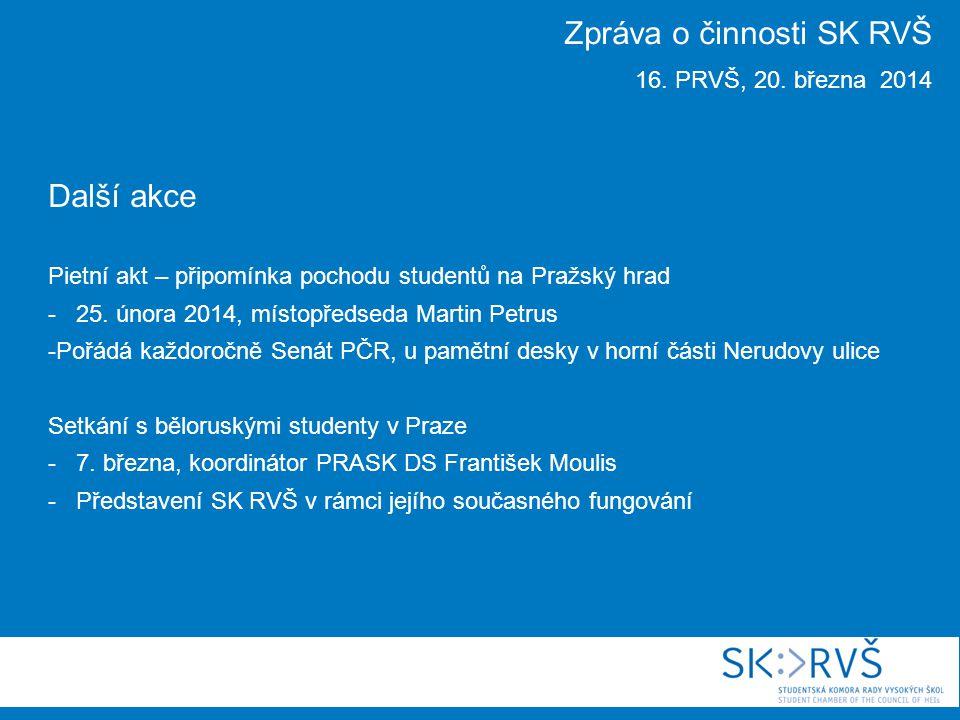 Další akce Workshop pro studentské senátory a senátorky -11.