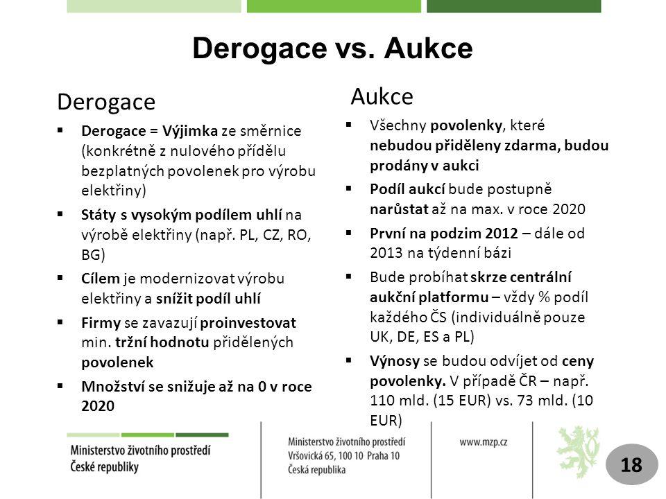 Derogace vs.