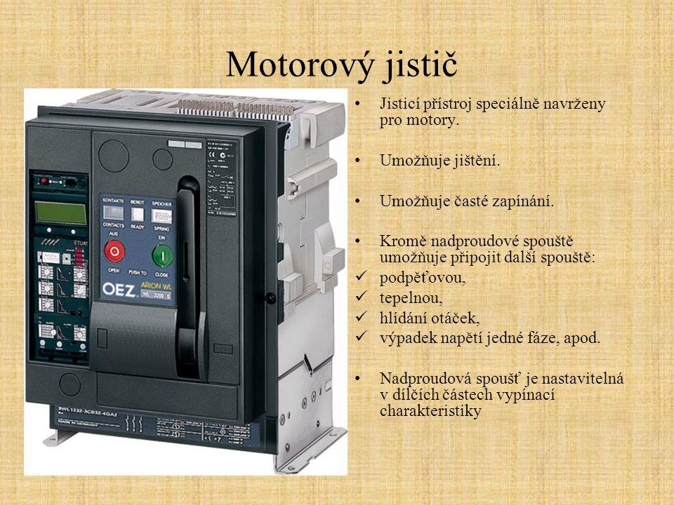 Úkoly Jaký je rozdíl mezi pojistkou a jističem.