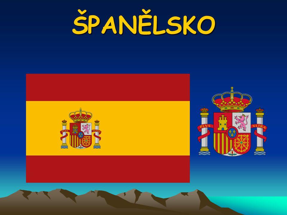 OBECNÉ Hlavní město: Madrid ( 3 044 000 obyv.) Originální název: Espana Mezinárodní zkratka: ESP Měna: euro Členství v mezinárodních organizacích: EU, NATO, OSN, CE, OBSE, OECD Ekonomika: vyspělá a bohatá