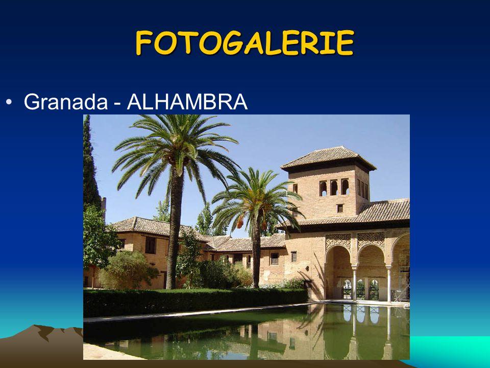 FOTOGALERIE Granada - ALHAMBRA