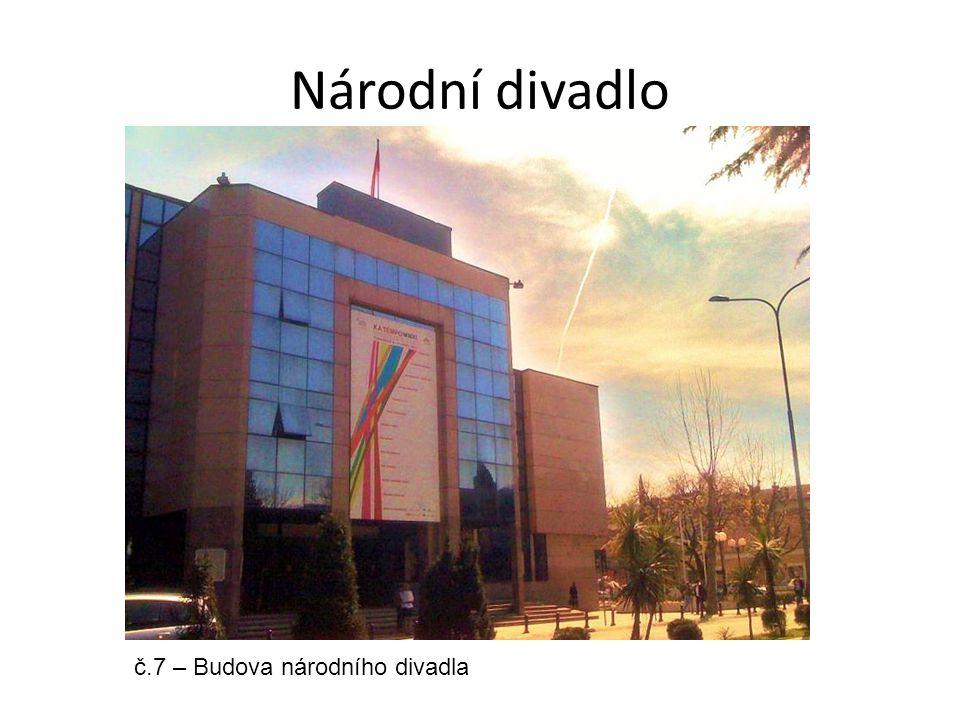 Národní divadlo č.7 – Budova národního divadla